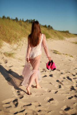 Beach dress in pink