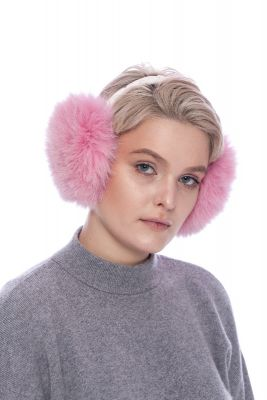 Earmuffs pink