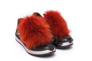 Shoe accessory fox orange