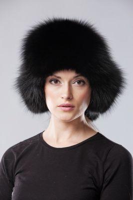 Ushanka hat black