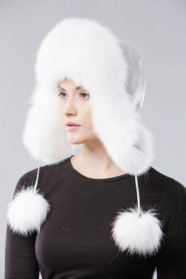 Ushanka hat white