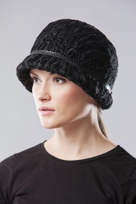 Caracul bonnet black