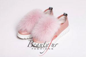 Shoe accessory fox pink