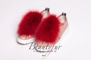 Shoe accessory fox red