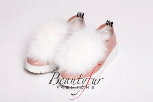 Shoe accessory fox white