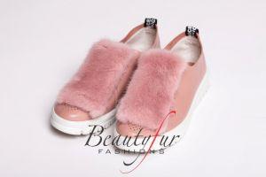 Shoe accessory  mink PINK