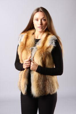 Classic vest of gold LT fox
