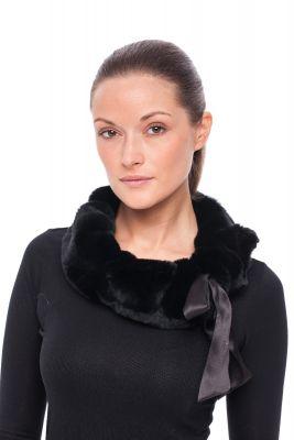 Rex fur scarf