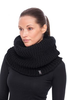 Wool hood/snood