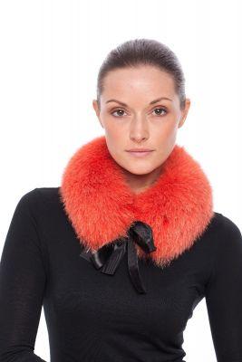 Collar from fox Orange