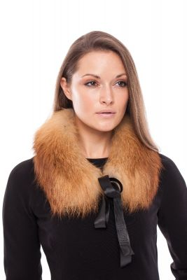 Collar from fox Natural Gold