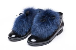 Shoe accessory fox blue
