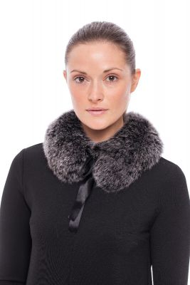 Collar from fox Black frost