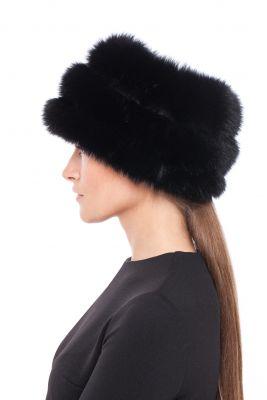 Tablet Hat fox Black