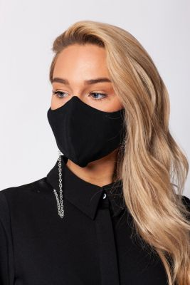 Two-layer mask with chain